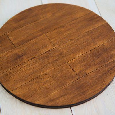 Подставка для торта «Деревянный круг»