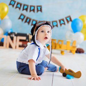 Детская фотосессия CakeSmash Первый тортик