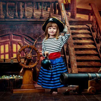 Маленькая Пиратка, фотограф Денис Ярковой