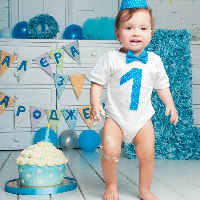 Фотосессия CakeSmash Первый Тортик