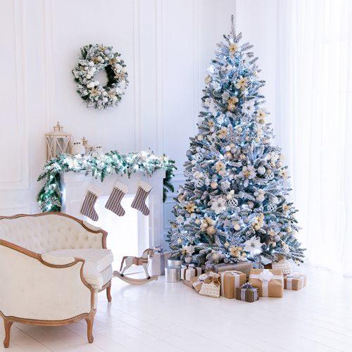 Новогодняя гостинная, Светлый зал