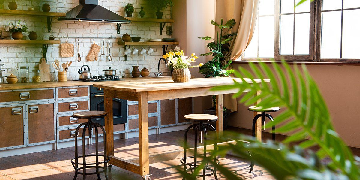 Локация кухня лофт в фотостудии